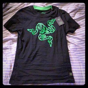 Team Razer gaming official tee shirt women's nerd